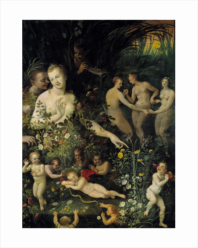 Allegory, called Allegory of Water or Allegory of Love by Fontainebleau School by Corbis