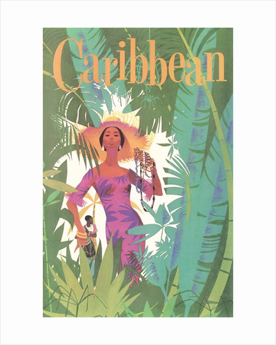 Caribbean Travel Poster by Corbis