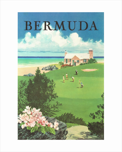 Bermuda Travel Poster by Corbis