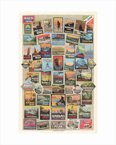Compendium of Travel Posters by Corbis