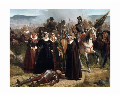 Detail of Mary Queen of Scots, at the Battle of Langside, Fought on 13 May 1568 by Giovanni Fattori