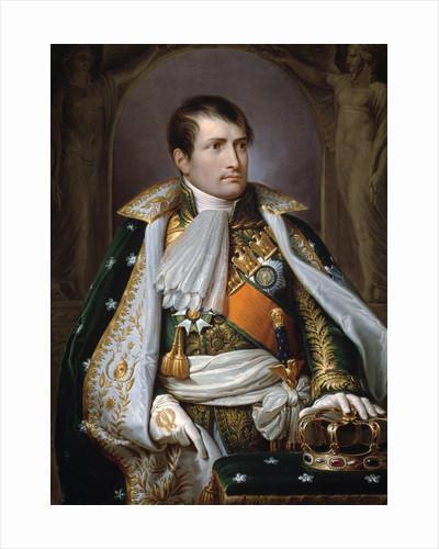 Portrait of Napoleon I Bonapart as King of Italy by Andrea Appiani