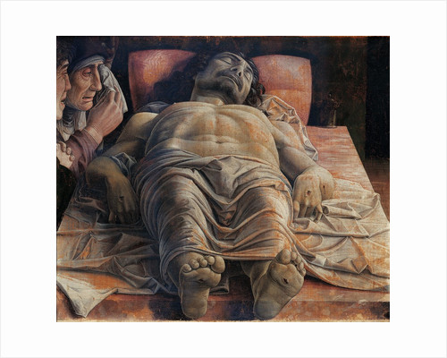 The Dead Christ by Andrea Mantegna