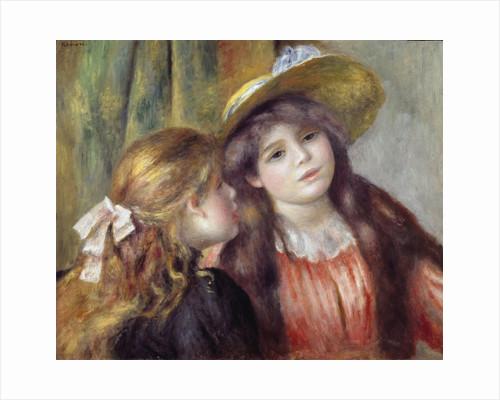 Portrait of Two Girls by Pierre-Auguste Renoir