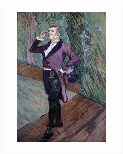 Portrait of Henry Samary of the Comedie Francaise by Henri de Toulouse-Lautrec