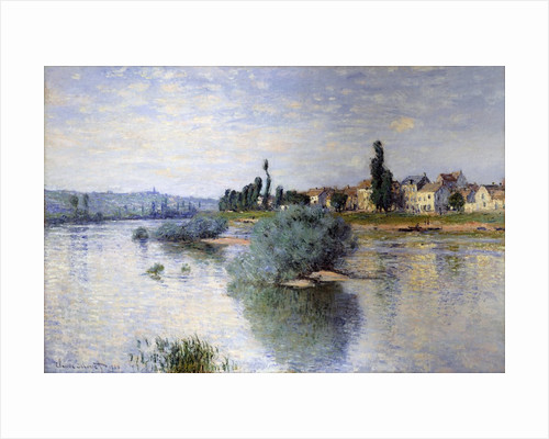 The Seine at Lavacourt by Claude Monet