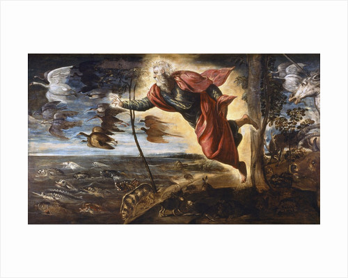 The Creation of the Animals by Jacopo Tintoretto