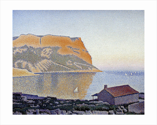 View of the bay of Cassis, Cap Canaille by Paul Signac