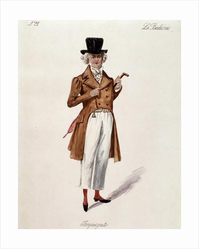 "A shopkeeper, character of the opera ""La boheme"" by Corbis"