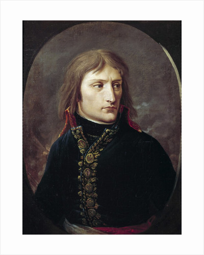 Portrait of Bonaparte by Louis Albert Bacler d'Albe