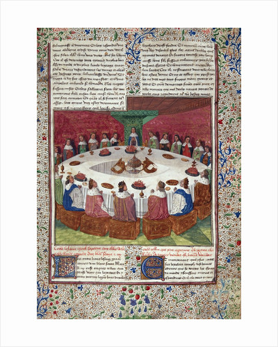 The King Arthur and The Knights of the Round Table by Corbis