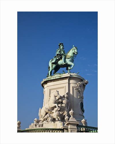 Dom Jose I Equestrian statue, Square surrounded by Government Buildings, Commerce Square by Corbis