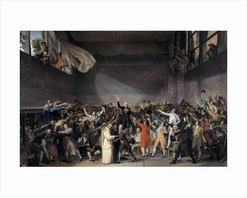 The Tennis Court Oath (Jeu de paume Oath), 20th June 1789 by Corbis