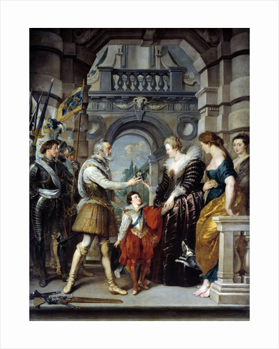 The Consignment of the Regency from the Marie de' Medici Cycle by Peter Paul Rubens