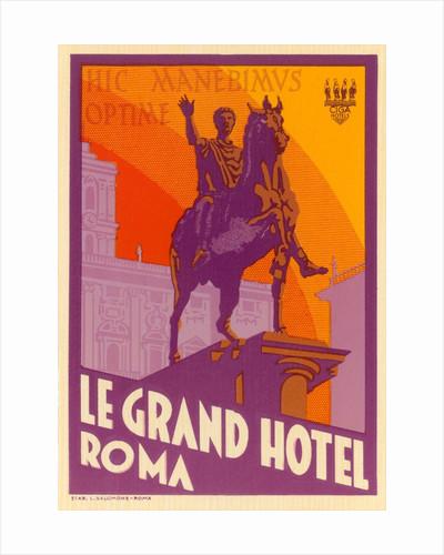Le Grand Hotel, Roma by Corbis