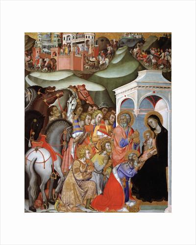 The Adoration of the Magi, c.1380 by Bartolo di Fredi