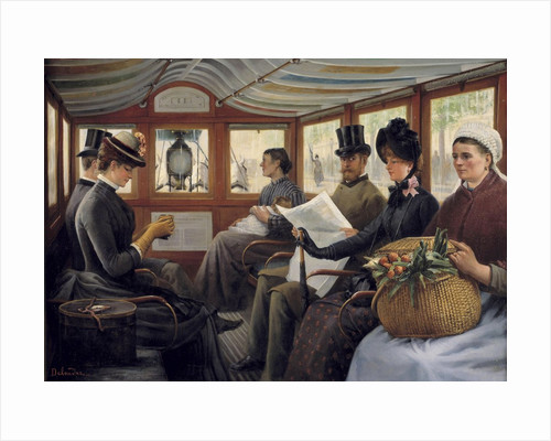 On the Omnibus by Maurice Delondre