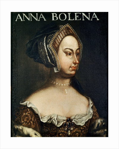 Anonymous portrait of Anne Boleyn by Corbis