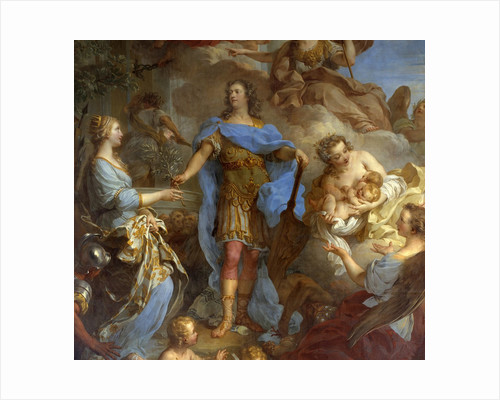 Louis XV bringing peace to Europe by Francois Le Moyne