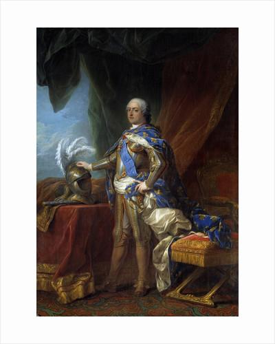 Portrait of Louis XV by studio of Carle Van Loo by Corbis