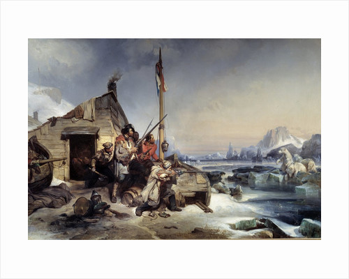Wintering of a crew on Nova Zembla coast by Eugene Lepoittevin