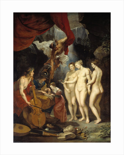 The Medici Cycle: The Education of Marie de Medici by Peter Paul Rubens