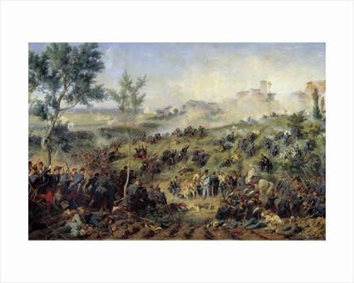 View of the battle of Montebello di Casteggio by Henri-Felix-Emmanuel Philippoteaux
