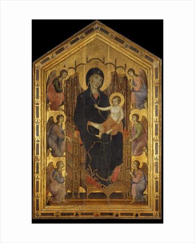 Rucellai Madonna by Duccio di Buoninsegna