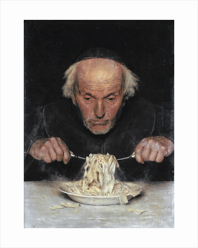 The Pasta Eater by Corbis