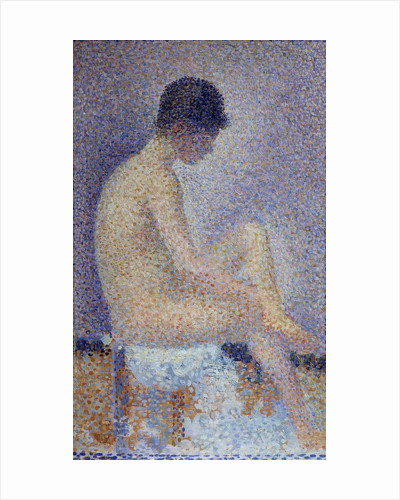 Model in profile by Georges Seurat
