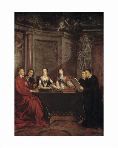 The Council of Conscience by Jean Francois de Troy