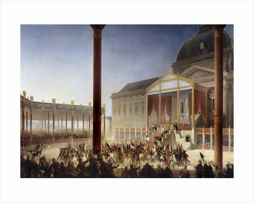 Assembly of the Champ de Mai, 1st June 1815 by Francois Joseph Heim