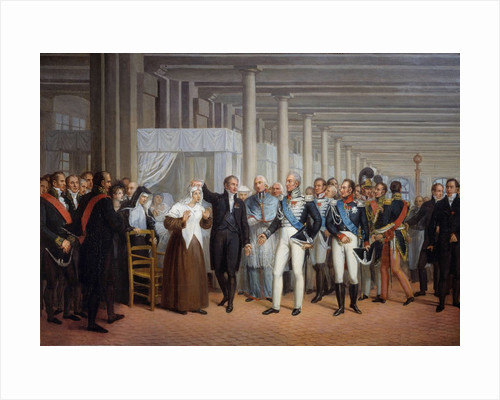 Cataract Operation Performed by Guillaume Dupuytren in the Presence of King Charles X by Corbis