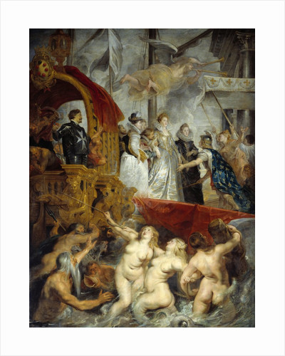 The Disembarkation at Marseilles from the Marie de' Medici Cycle by Peter Paul Rubens