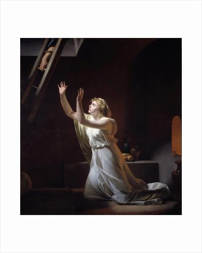 The torture of a vestal virgin by Henri Pierre Danloux