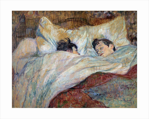 The Bed by Henri de Toulouse Lautrec