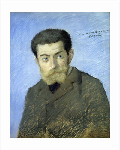 Portrait of Joris Karl Huysmans by Jean Louis Forain