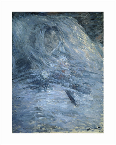 Camille on her deathbed by Claude Monet
