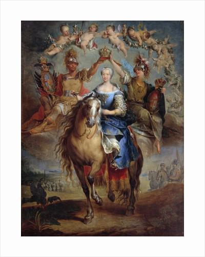 Portrait of Maria Theresa of Austria by Francois Eisen