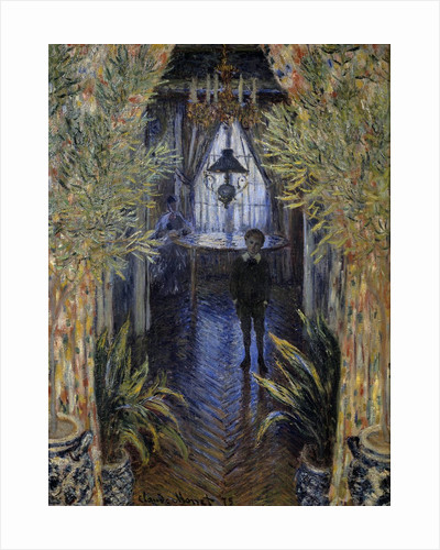 Corner of the Apartment by Claude Monet