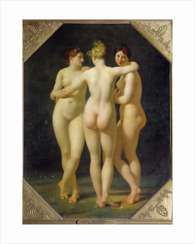 The Three Graces by Jean Baptiste Regnault