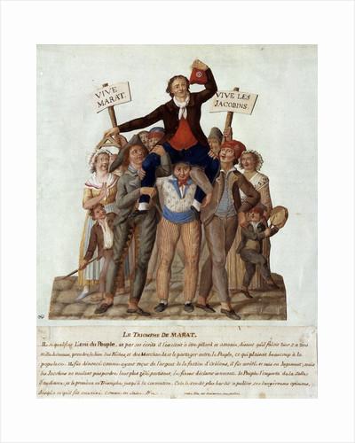 The triumph of Marat by Corbis