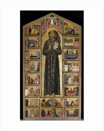 St. Francis of Assisi altarpiece by Maestro del san Francesco