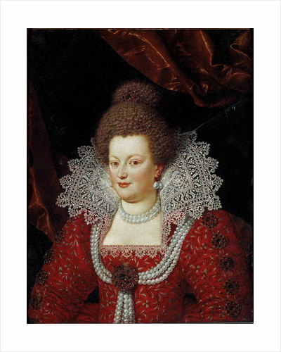 Portrait of the Queen of France Maria de' Medici attributed to Frans Pourbus the Younger by Corbis