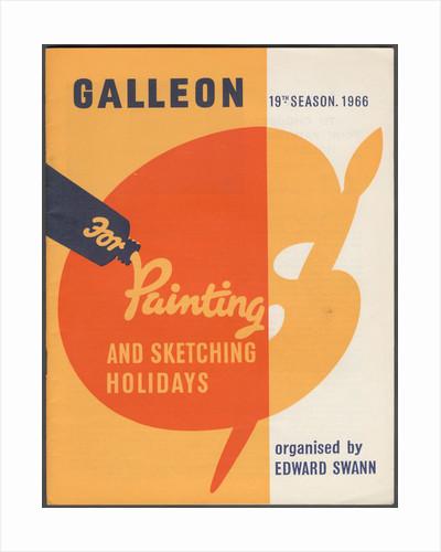 Galleon Holidays, 1966. Artist: Edward Swann by Corbis