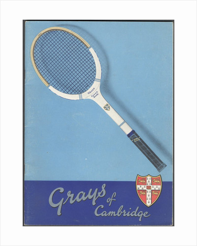 Gray's of Cambridge Sports equipment, 1940s. Artist: Wilfred Fryer by Corbis