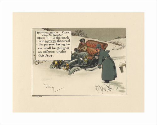 Motoritis, or other interpretations of the Motor Act. Identification of...cars. Illegible Number Sec by Corbis