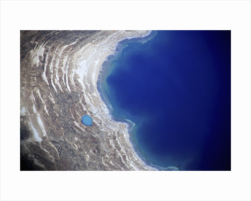 Dead Sea from above. by Corbis