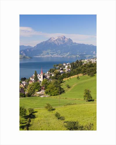 Lake Lucerne by Corbis