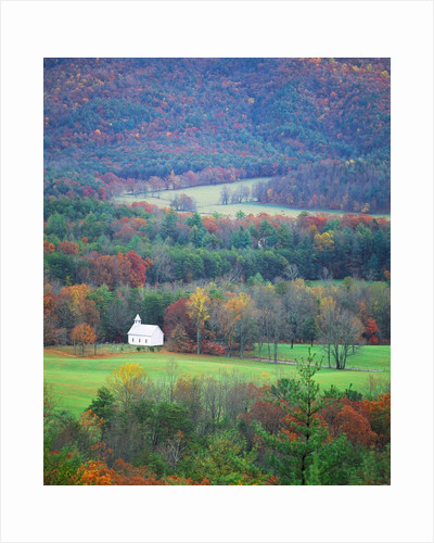 Rural Setting in Great Smoky Mountains by Corbis